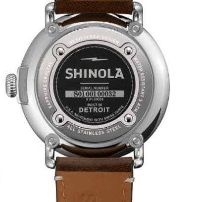 A Shinola watch