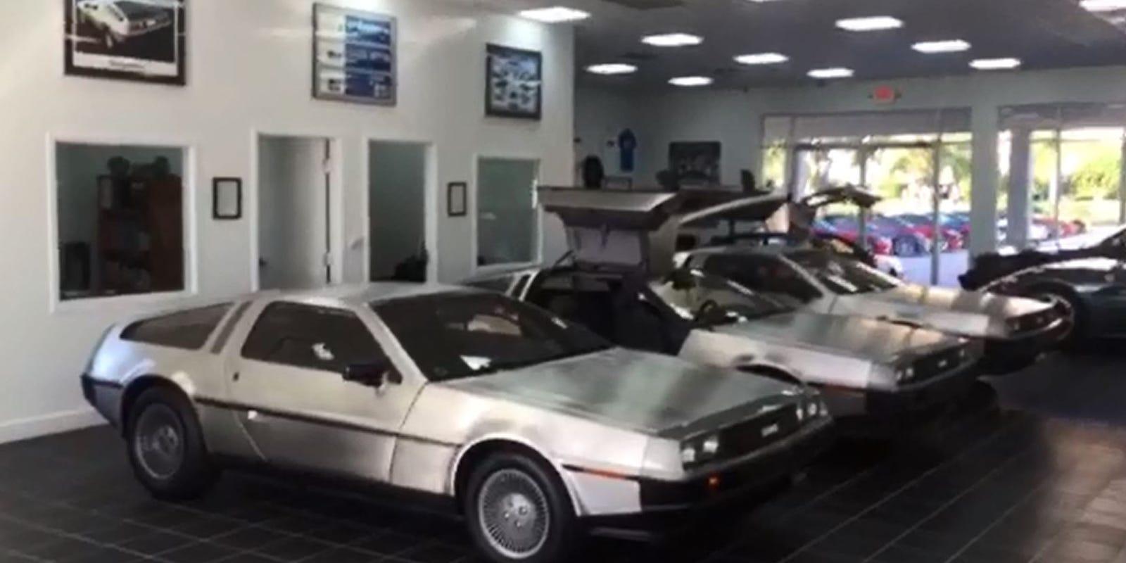 Deloreans For Sale >> Bonita Springs car dealership has 9 DeLoreans for sale