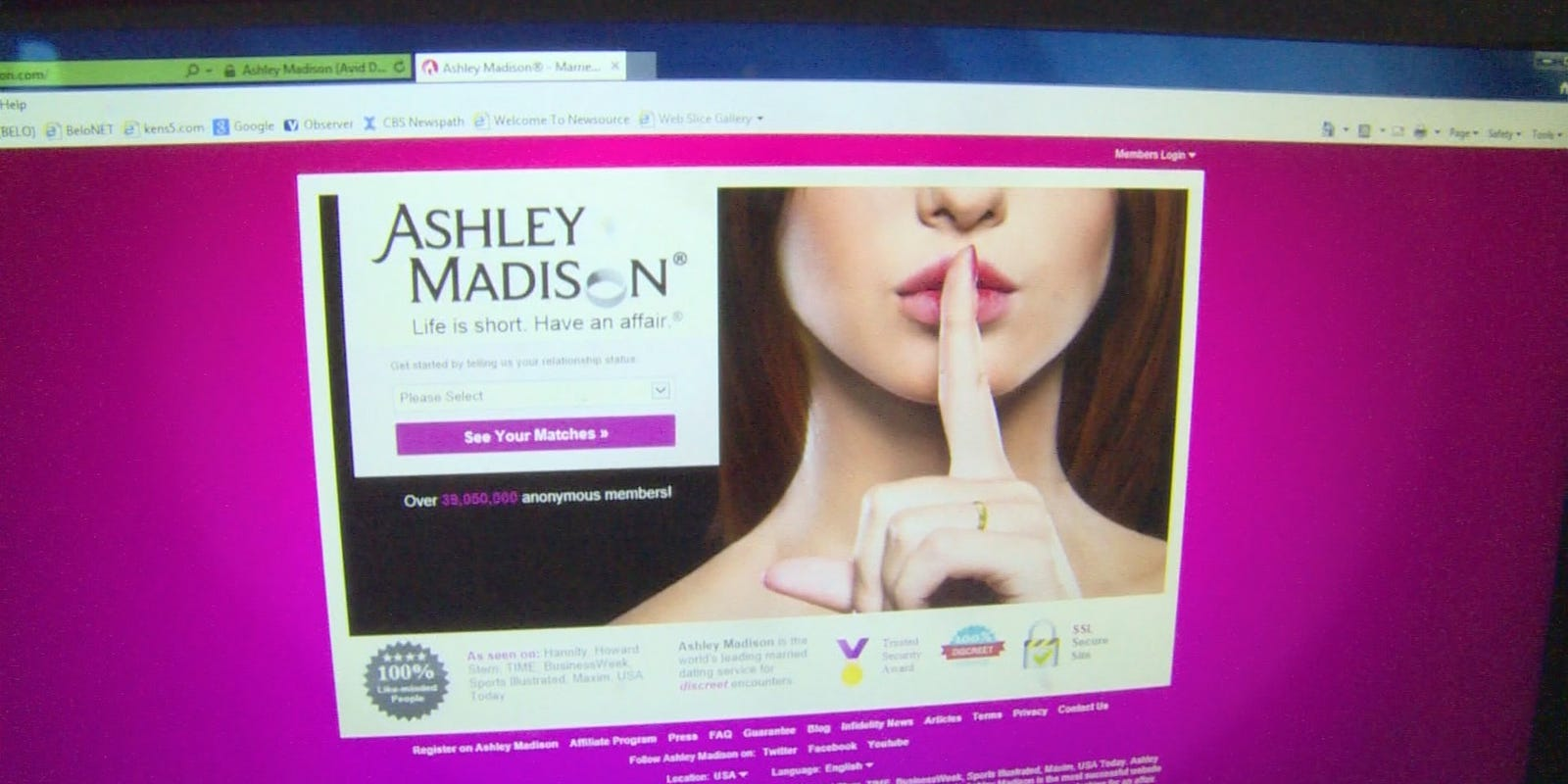 ashley madison chat