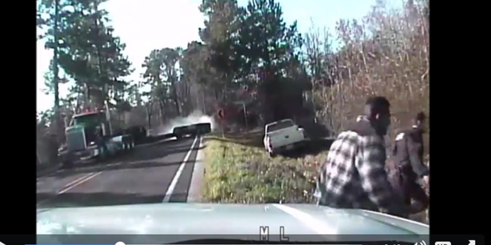 Caught On Camera Close Call For Lufkin Police Bystander