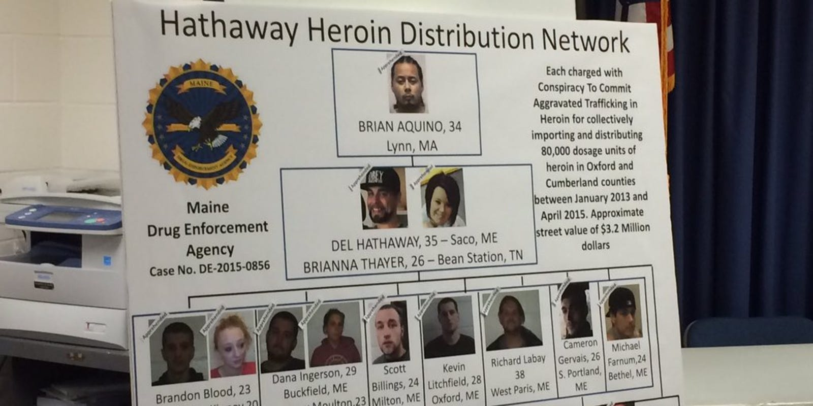 15 people indicted in $3 2 million heroin distribution ring