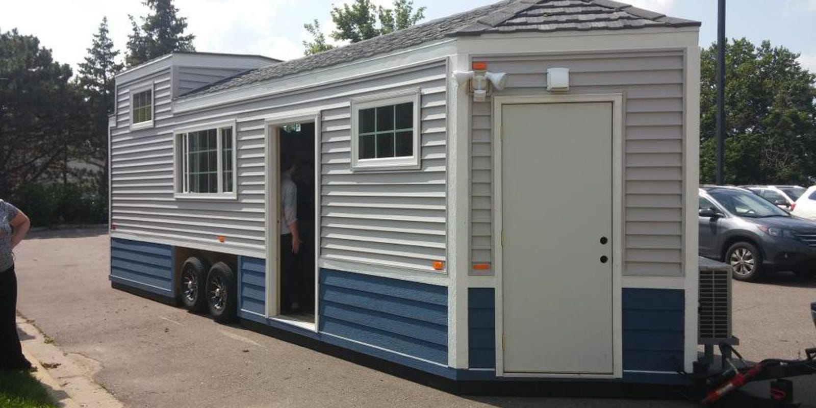Tiny homes combine rv with house look and feel for 8 by 16 tiny house
