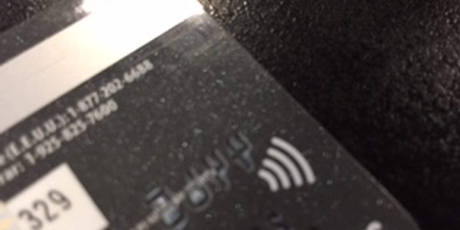 Do You Have A WiFi-Looking Symbol On Your Credit Card?