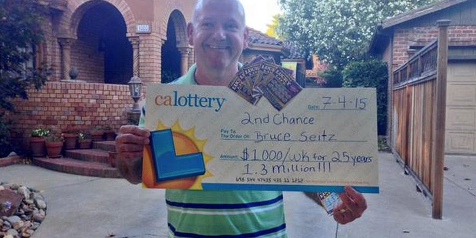 Stockton man turns losing lotto ticket into more than $1M