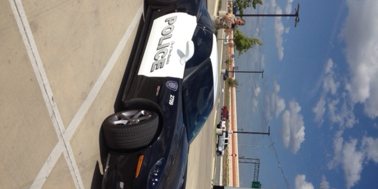 New Braunfels Police Department adds Corvette to fleet