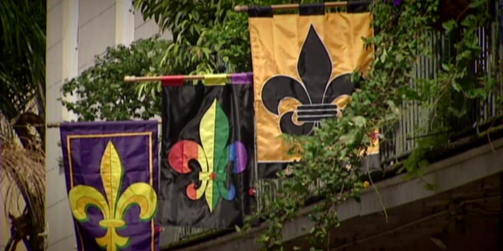 Historians Say Fleur De Lis Has Troubled History
