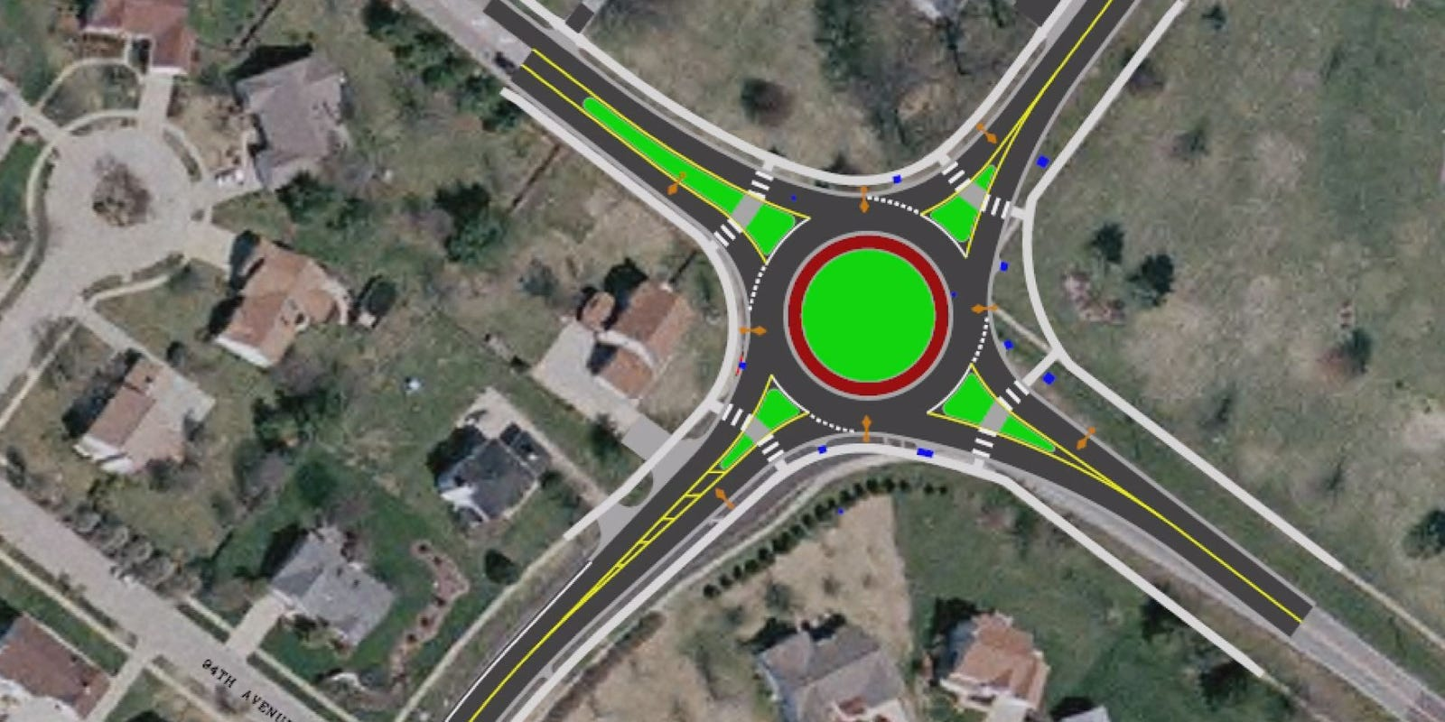 Roundabout causes concern in STL County
