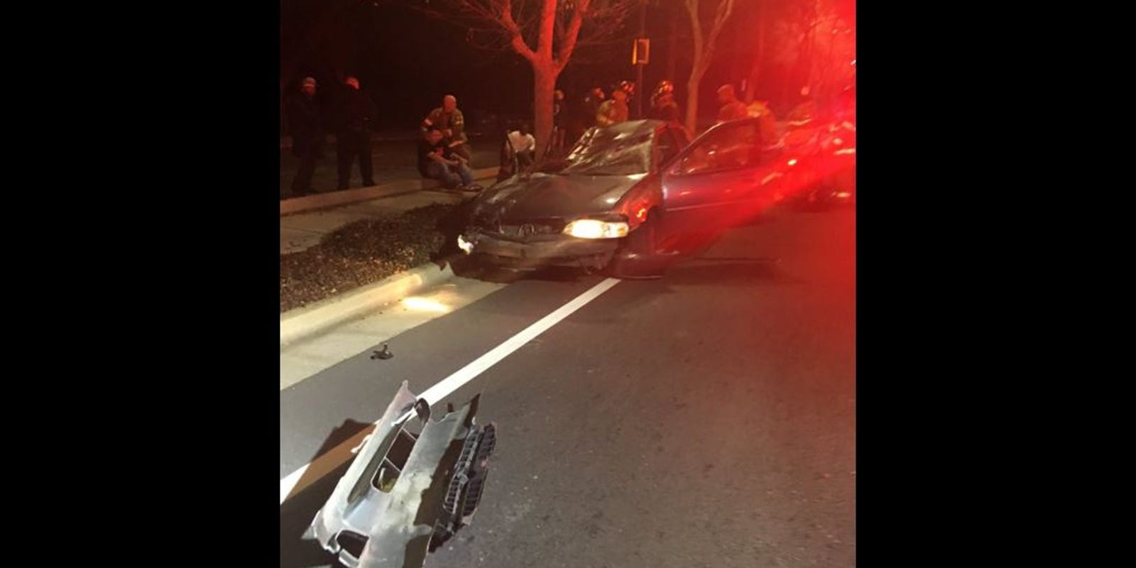 Car Crash Washington Heights