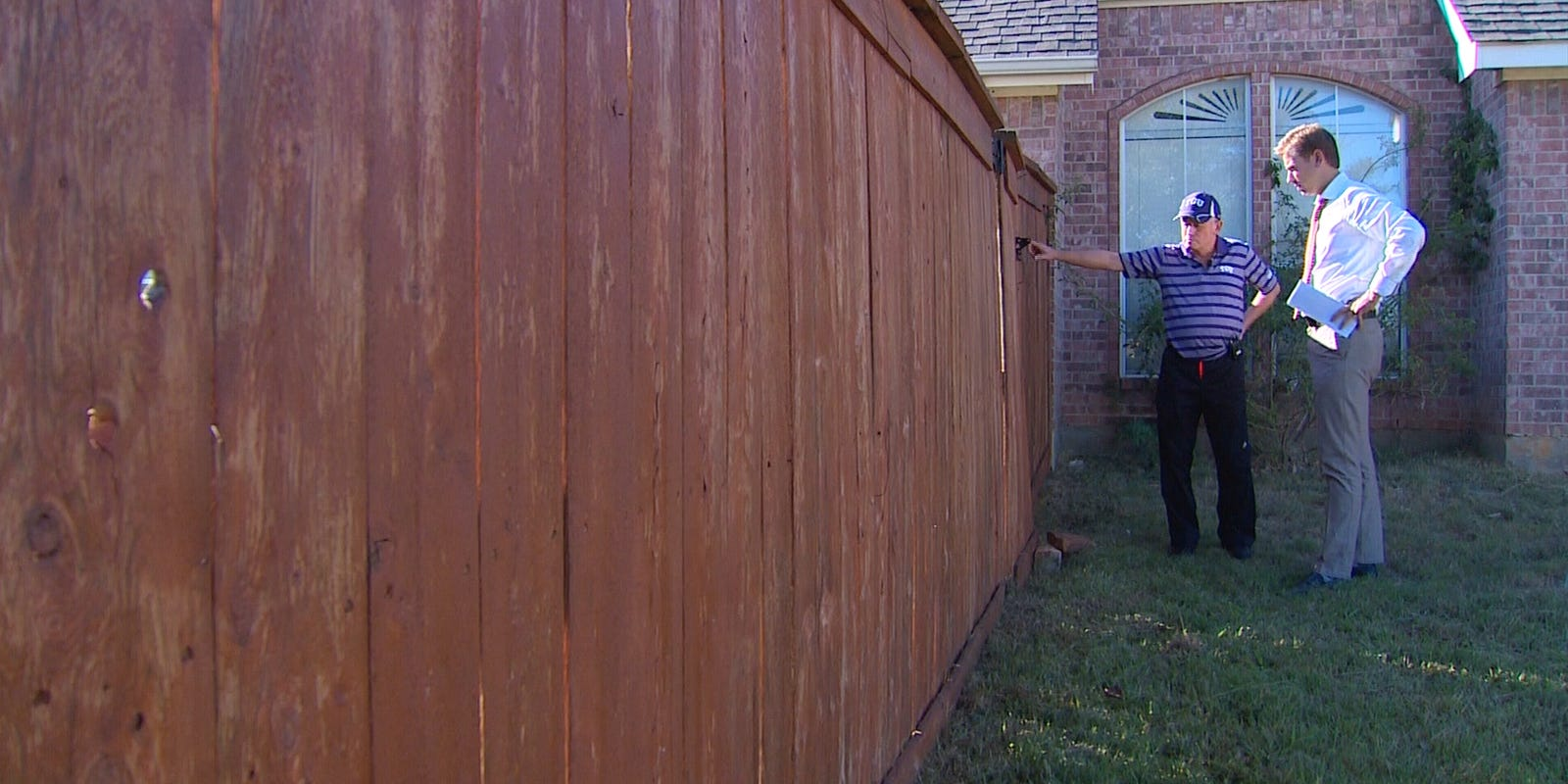 Cancer patient battles hoa over staining of fence