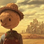 A screenshot from 'The Scarecrow,' a new animated short presented by Chipotle.
