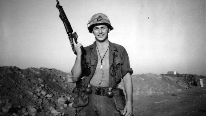 Sgt. Jack Smith from Clarion, Ia., is pictured in March 1970 in Vietnam -- the same month he died in combat just weeks before his 21st birthday.