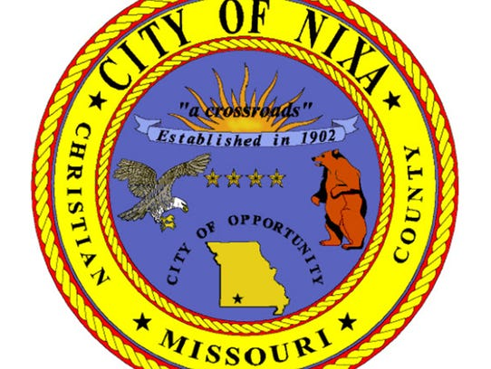The City of Nixa's old seal, adopted in 1987.