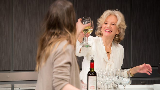 Gina Costigan and Hayley Mills currently appearing in Party Face at the NY City Center