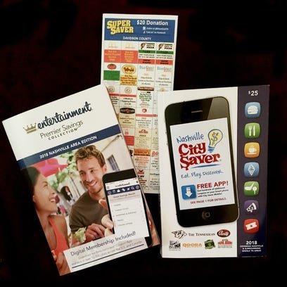 The Entertainment Book, City Saver and Smart Discount
