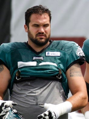 John Moffitt tried to make a comeback with the Philadelphia Eagles in 2015.