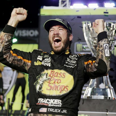 Truex's long road finally earns him season title
