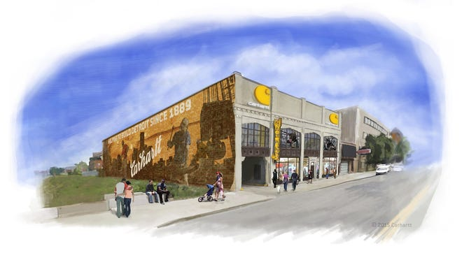 Dearborn-based Carhartt plans to lease a three-story building at 5800 Cass Ave. in Detroit's Midtown area.
