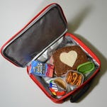 A favorite lunch packing tool for Mary Shockley of Selbyville is her metal cookie cutters, used to create fun and unique shapes for sandwiches and cheeses.