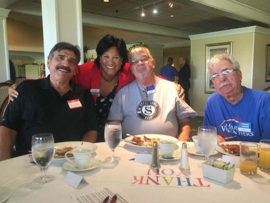 Keith Quintavalle; Carol Houwaart-Diez, United Way of Martin County CEO; Andy Barbrick; Steve Robkin