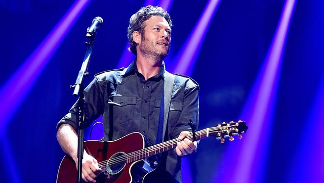Blake Shelton will perform May 28 at the Indianapolis Motor Speedway.