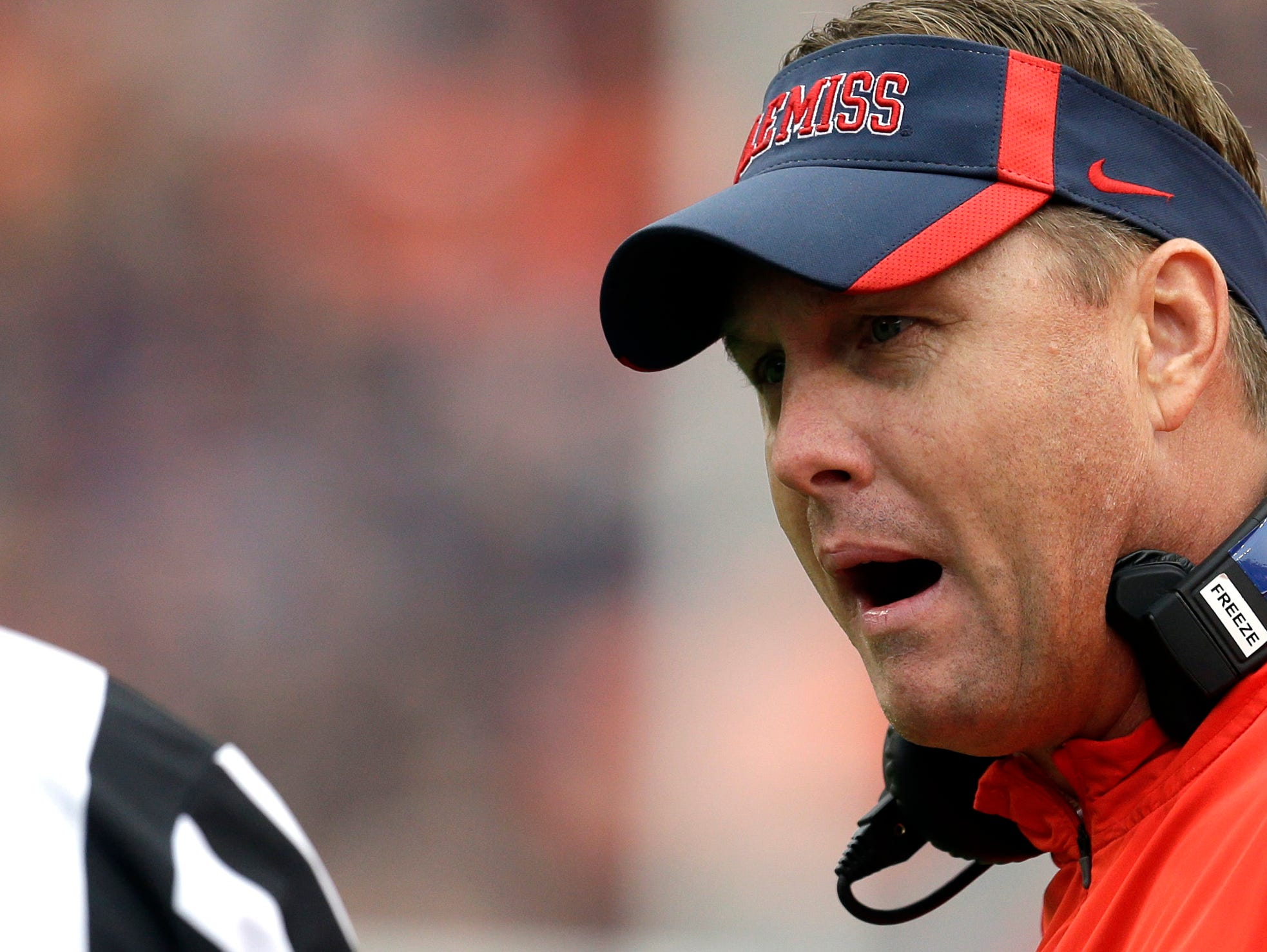 Ole Miss coach Hugh Freeze has two games left with three NFL first round picks and 10 senior starters on its roster.