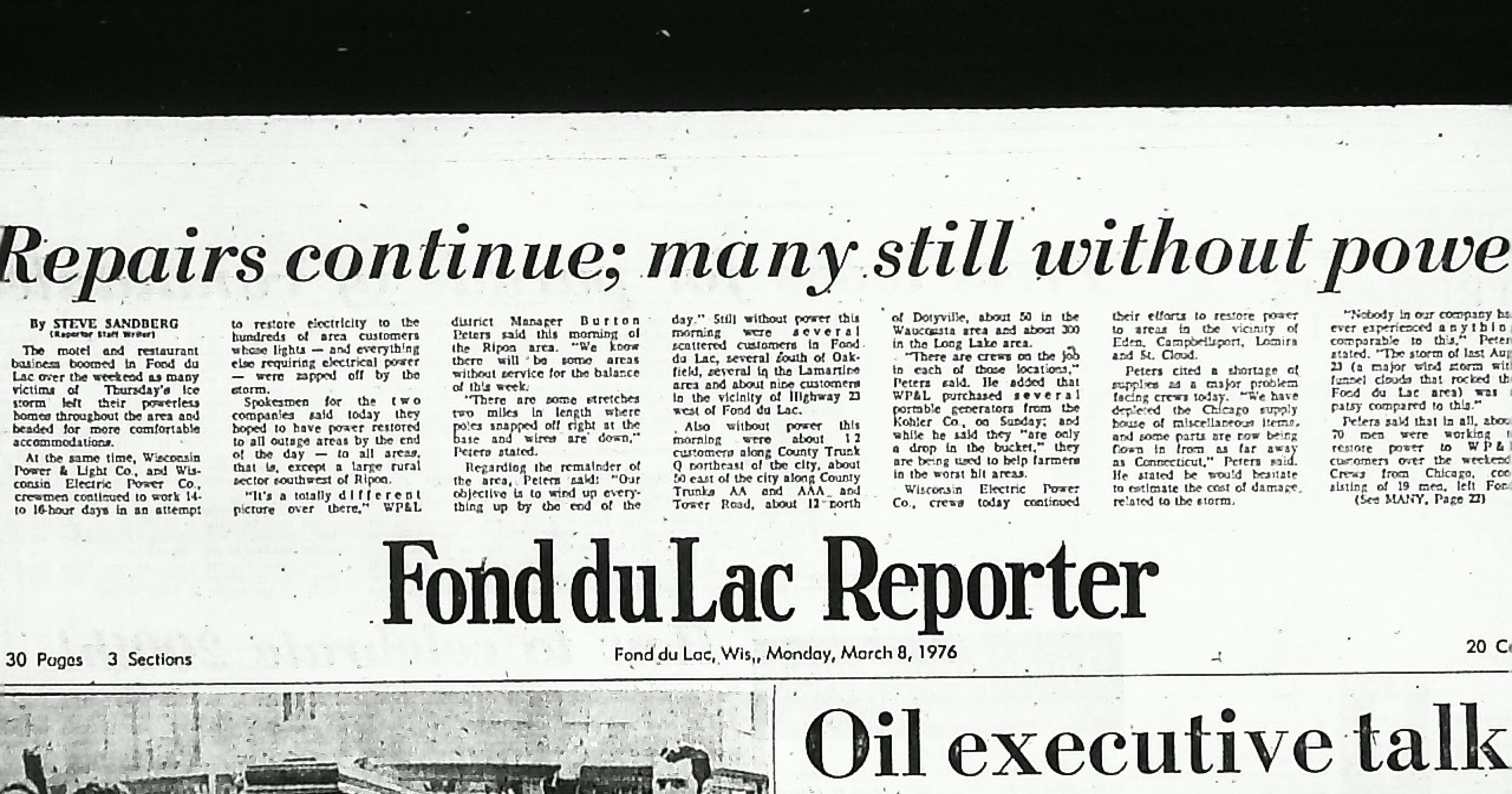 A look back: Remember the Ice Storm of 1976?