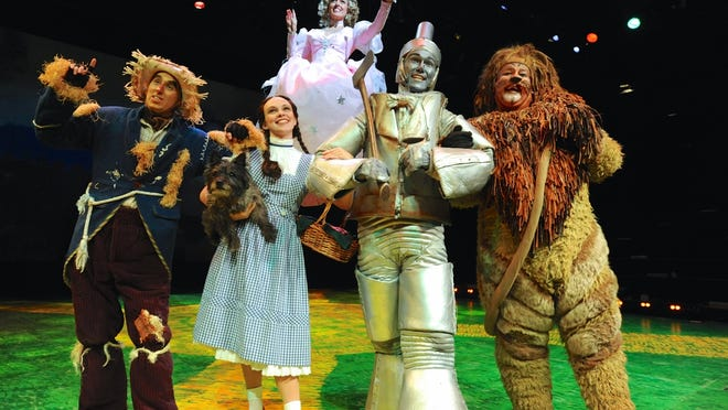 """Westchester Broadway Theatre's production of """"The Wizard of Oz."""""""
