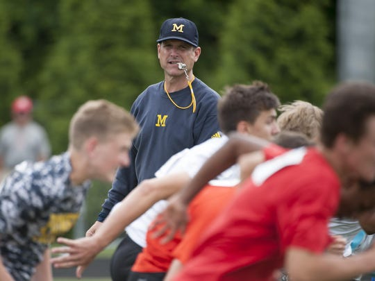 """""""Nearly all"""" of Michigan's 17 verbal commitments are"""