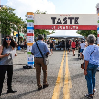 The Taste of Downtown gets underway in Lansing Saturday,