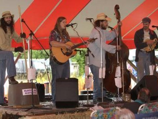 The sixth annual Bluegrass in the Pines festival will