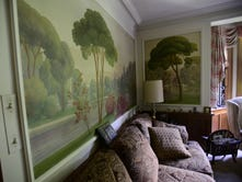 Mystery mural brings life to Hoffert's home