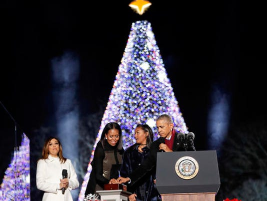Barack Obama, Michelle Obama, Sasha Obama, Eva Longoria Baston