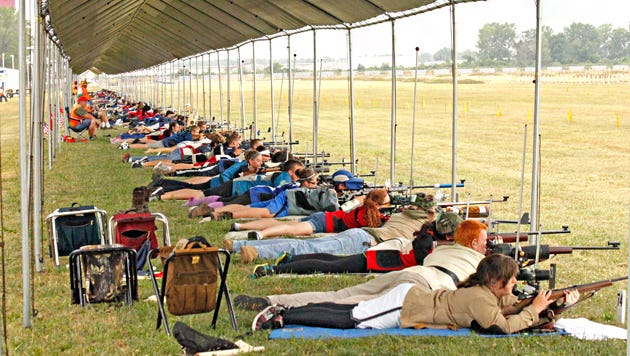 All smallbore matches will be fired on Rodriguez Range at Camp Perry under a covered firing line
