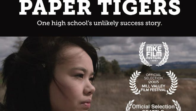 """Promotional photo for documentary, """"Paper Tigers"""""""
