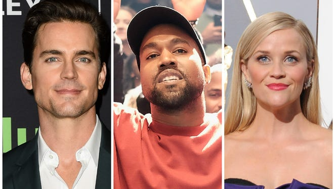 Matt Bomer, Kanye West and Reese Witherspoon got in the holiday spirit.