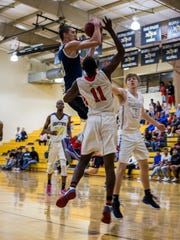 Caleb Catto, a 6-5 guard from Southwest Florida Christian, is an FGCU signee and close friend of Canterbury senior small forward Berrick Jeanlouis, who is visiting the Eagles this weekend.