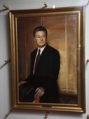 Portrait of former New Jersey Governor James Florio.