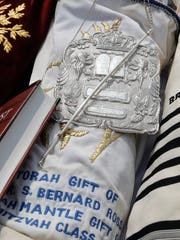 Torahs that were rescued from Europe during World War