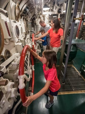Wisconsin Maritime Museum, 75 Maritime Drive, Manitowoc, is offering two nautical opportunities for families to spend the night aboard an actual World War II submarine on July 7 and Aug. 11.