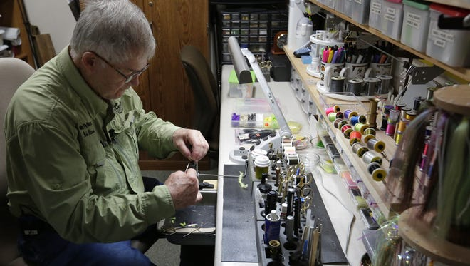 Bob Haase has a passion for fly tying, teaching and the outdoors.