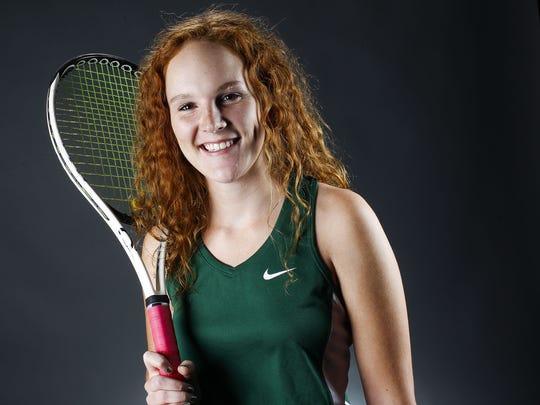 Phoenix Sunnyslope senior tennis player Libby Fleury