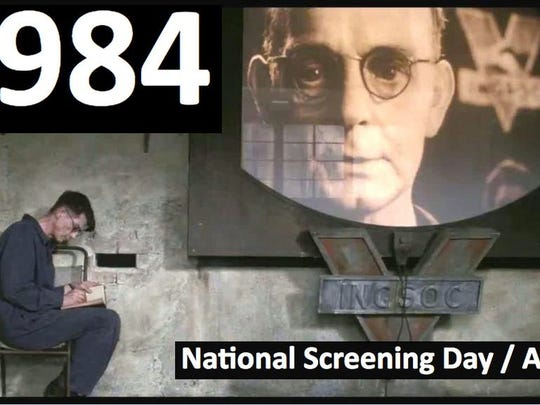 """Silverspot Cinema in Naples will screen the second movie adaptation of """"1984"""" on Tuesday, April 4, 2017, as part of a national screening day."""