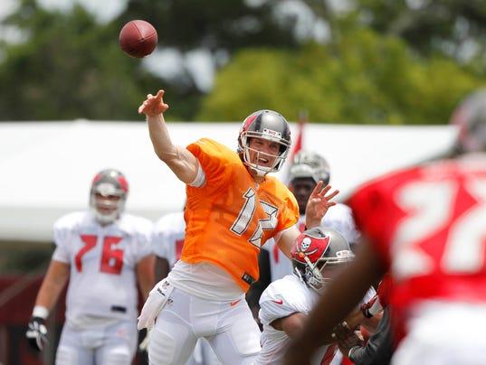 Tampa Bay Buccaneers quarterback Josh McCown