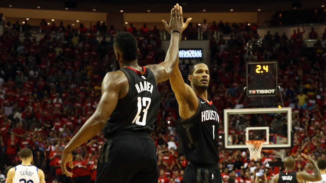 Rockets push defending champion Warriors to brink of elimination