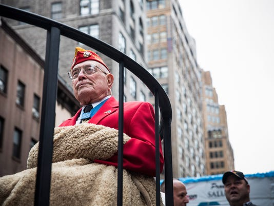 Hundreds Of Thousands Participate In Veterans Day Parade In NYC