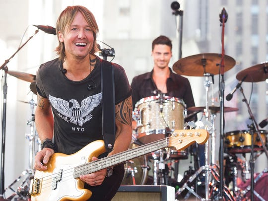 """Keith Urban performs on NBC's """"Today"""" show Friday,"""