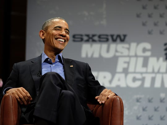 President Obama speaks at the opening keynote of the