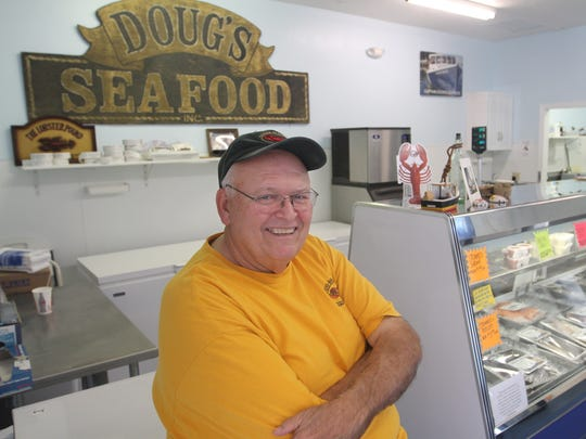 Doug Anderson is the owner of Doug's Seafood on Bonita Beach Road.