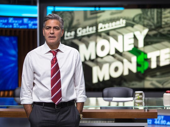 """George Clooney stars as Lee Gates in the thriller """"Money Monster."""""""