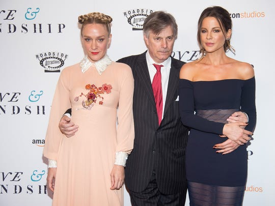 Chloe Sevigny, Whit Stillman and Kate Beckinsale attend a  screening of 'Love & Friendship' in New York.